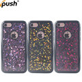 Gel diamond case for iphone7 soft tpu silicone case back cover for iphone7 glitter case for phone shockproof smart phone case
