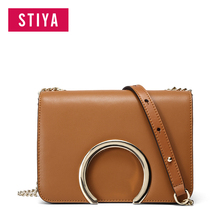 2017 New SmallFaye Fashion and Simple Genuine Leather Lady Shoulder Messenger Bag