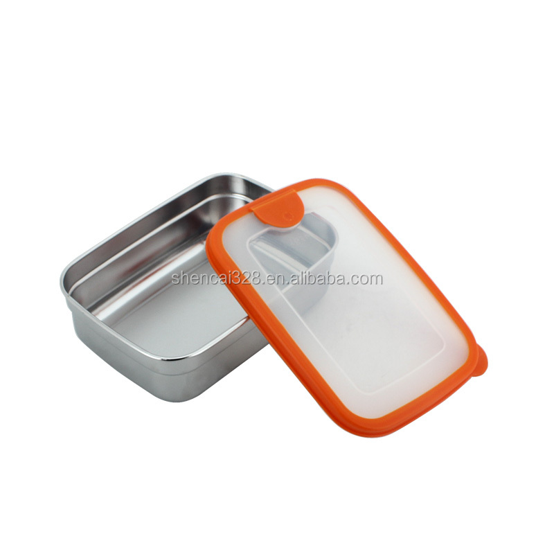 korean style food storage box 3 size rectangle shape
