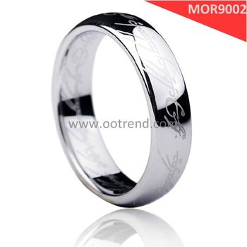 Natural color surgical stainless steel 316 Rings,Lord of the rings,Hot sale men Rings