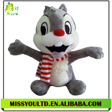Wholesale Soft Plush Fake Squirrel