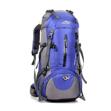 45+5L Backpack Outdoor Sport Hiking Trekking Camping Travel Backpack Pack with Rain Cover