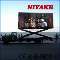 niyakr mobile led video advertising truck outdoor full color led screen mobile stage roadshow billboard truck