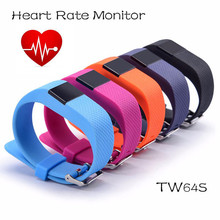 TW64s Heart Rate Smart Band Real-time Update Fitness Tracker TW64s HR