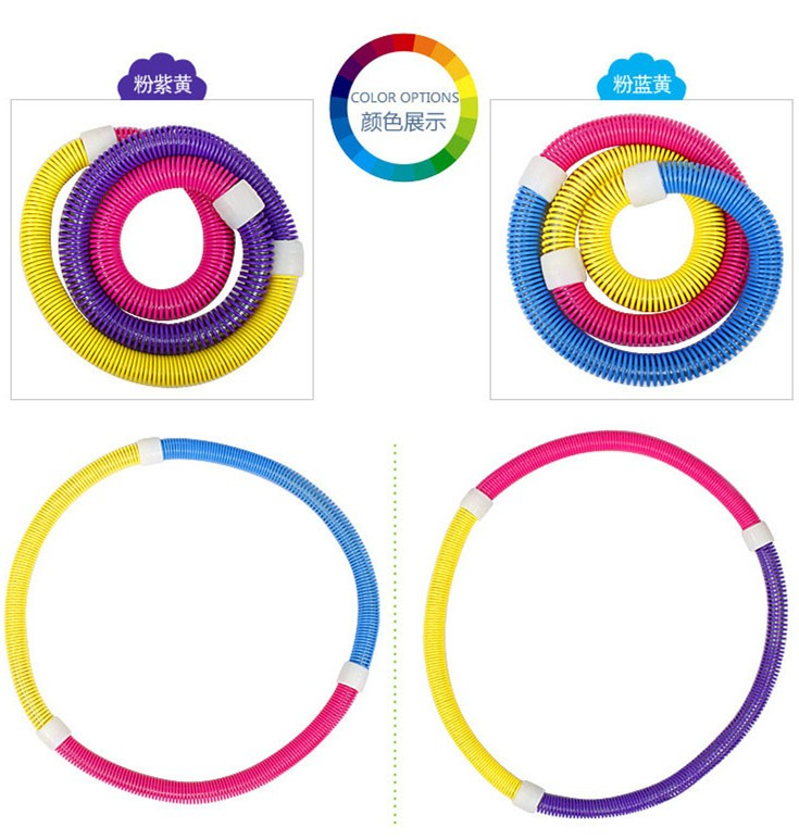 Body Building Indoor Fitness PVC Flexible Cheap Exercise Hula Hoop