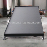 Black chrome flat panel solar collector,flat plate solar collector
