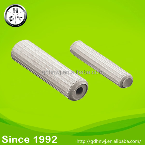 Plastic black white wooden dowel plugs decorative furniture dowel