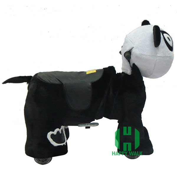 HI cute animal riding for kids coin operated dog walking machine