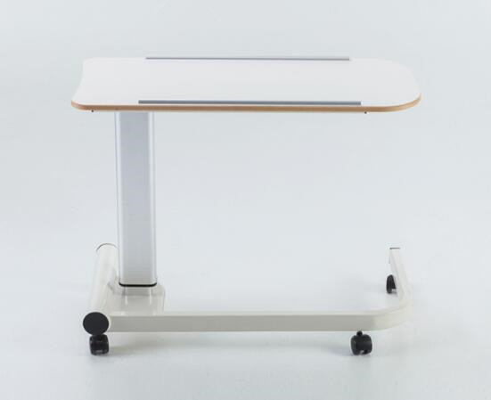 Most comfortable medical overbed table with tray