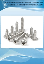 Cross recessed truss head tapping screws phillipes head type tapping screw 2x12 galvanized self tapping screw