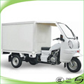 hot selling cabin delivery tricycle gasoline motorcycle