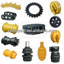 Bulldozer Undercarriage Parts, Front Idler, Track Shoe and Track Link