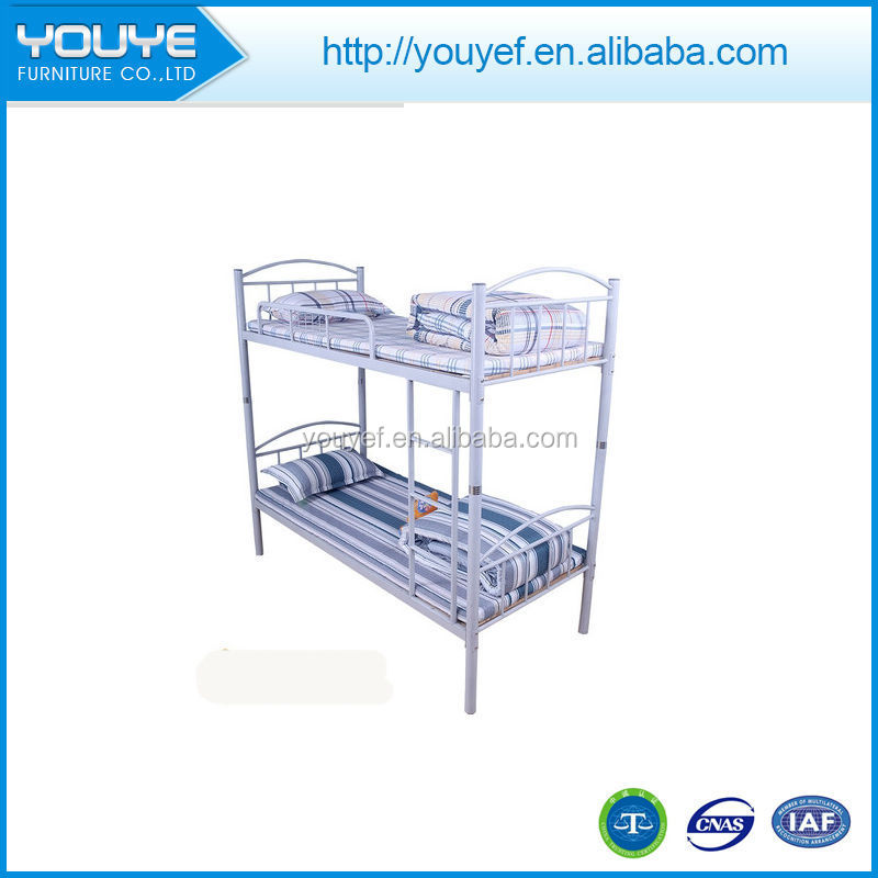 Wholesale factory sale metal frame twin over queen bunk beds