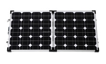 Customized 12V 70W 90W Foldable Mono Solar Panel For Camping Mounting