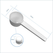 Custom Design 5ml Plastic Mini Measure Powder Spoon