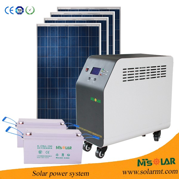 1KW 2KW 3KW 5KW Solar energy for home use whole house solar power system / Solar kit for Africa solar pv system