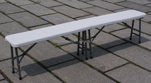 strong 6ft plastic modern park bench