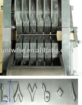 emboss Numbering Machine