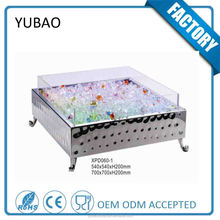 customized Portable Buffet Party Food Cooler ,Buffet Beer Cooler , Buffet Cooling Salad Bar