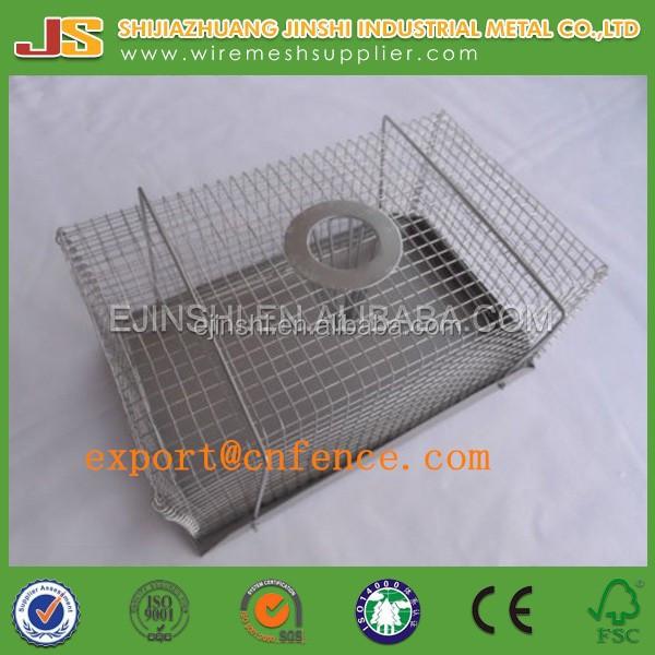 Rat Trap 20cm Humane Live Trap Pest Rodent Rat Mice mouse Control Cage bait