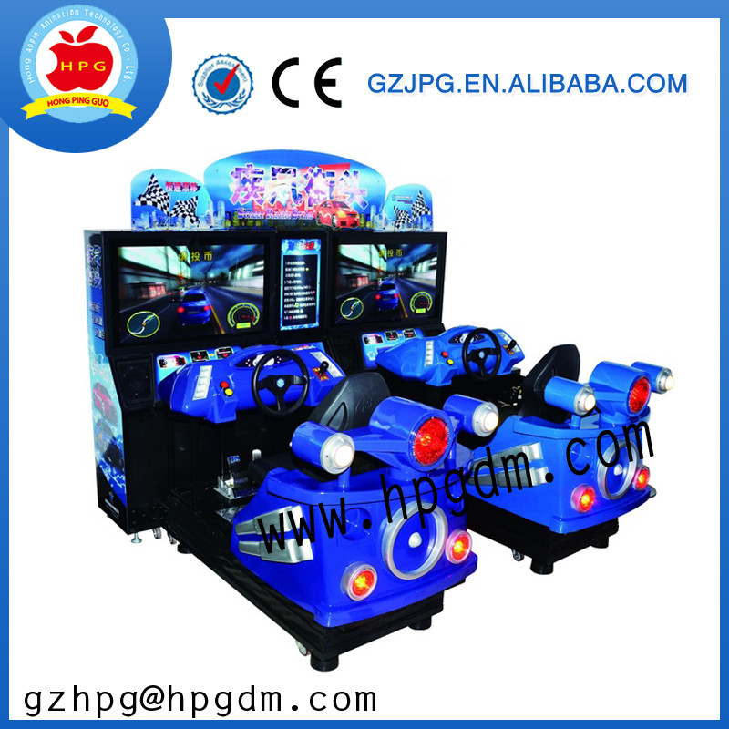 New Arrival! Crazy Speed drive Kiddie rides kids game machine