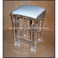 Unique Acrylic Lucite square Stool