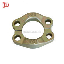 Hydraulic carbon steel sae split hose pipe flange clamp