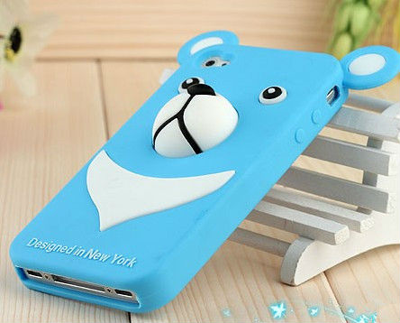 Wholesale high quality custom 3d cartoon silicone mobile phone case