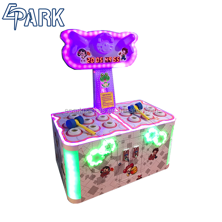 Coin Operated Whack <strong>A</strong> Mole Redemption game machine hitting game machine for sale