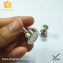 Permanent Customized Bullet Shaped Neodymium Magnet