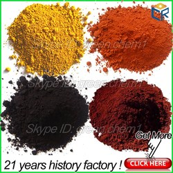 Best price 95% iron oxide hydroxide black pigment and yellow ceramic powder oxidized bitumen for paint/pavers/concrete/bricks