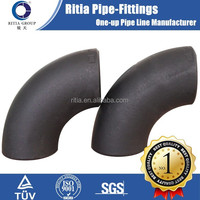 2 inch 90 degree carbon steel pipe fittings elbow std