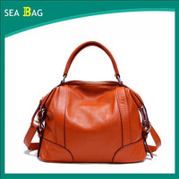 Super wear-resistant first layer of leather ladies bag Mobile Messenger bag