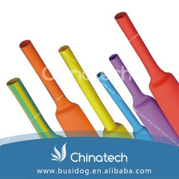High temperature China supplier heat shrink tubing 2:1 with 30 diameters