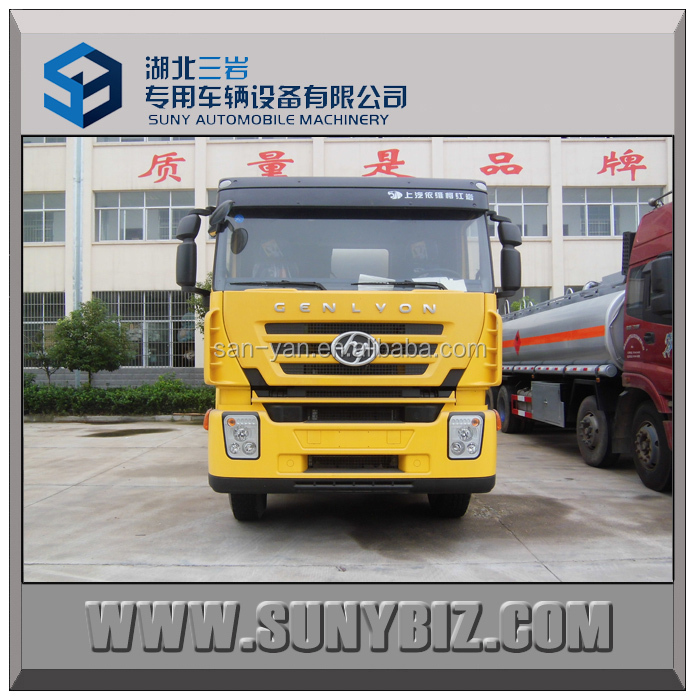 China oil companies 28000 liters fuel tank truck 350P used fuel tanker truck