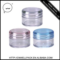 20ML plastic jar Single PP cream jar wholesale