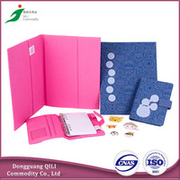 Wholesale Custom Design Fabric Book Cover
