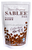 Aluminum Foil Stand up Resealable Coffee Beans Package Bag