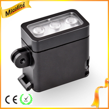 Professional Rechargeable LED Video Light for Action Camera Gopro,Nikon