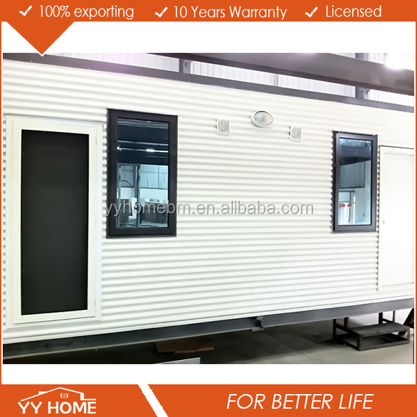 Pop move wood house luxury container house / container homes modern house aluminium windows