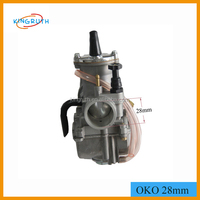 High performance racing fit150cc 200cc motorcycle 28mm oko carburetor