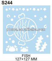 FOR CRAFT - FISH (S244) PET STENCIL