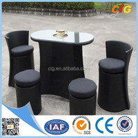 High quality 5pcs leisure outdoor patio furniture