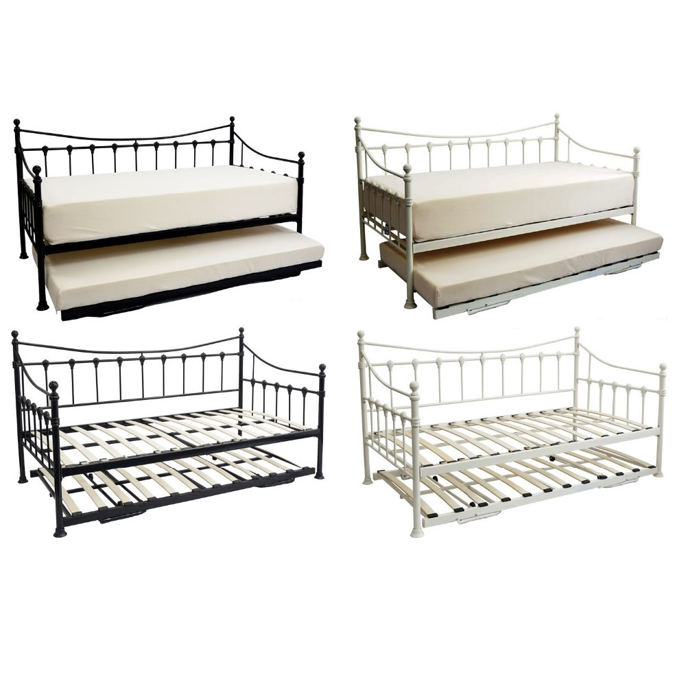 What is a Trundle Bed with picture  wiseGEEK