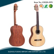 no cutaway Nato neck china brand perless customized classical guitar