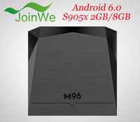 Android smart tv box M96 S905X With KODI 16.0 quad core 2GB Ram 8GB Rom Full hd media player
