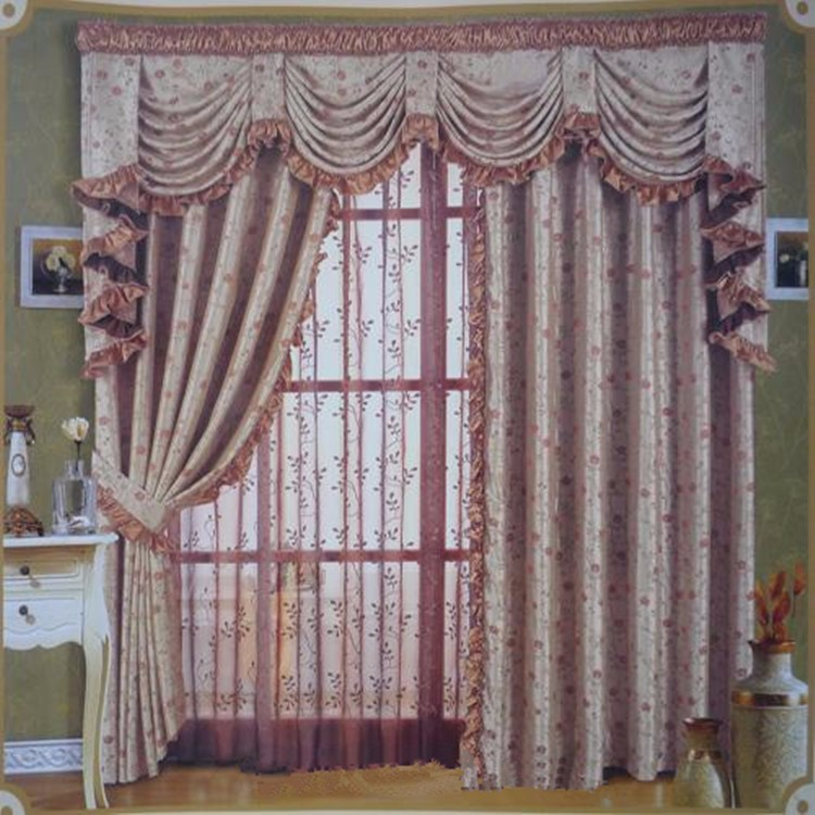 Fancy office window curtains hot sale hotel faux silk for Hotel drapes for sale