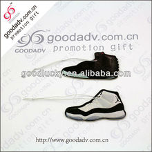 High quality Shoes shape hanging scent paper card car air fresheners