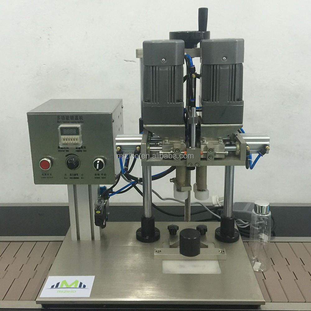 New arrival cap sealer perfume capping machine