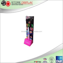 Floor display stand for clips advertising with KT board from China supplier
